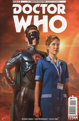 "Doctor Who: The 12th Doctor (2017 mini-series) #1-4 [SET] — Ghost Stories (All Variant ""B"" Covers)"