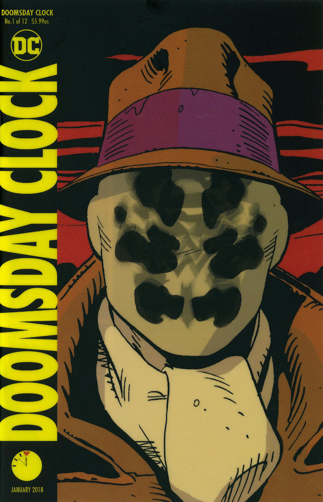 "Doomsday Clock (2017 Mini-Series) #1 (of 12) (Variant ""3-D"" Lenticular Cover - Dave Gibbons)"