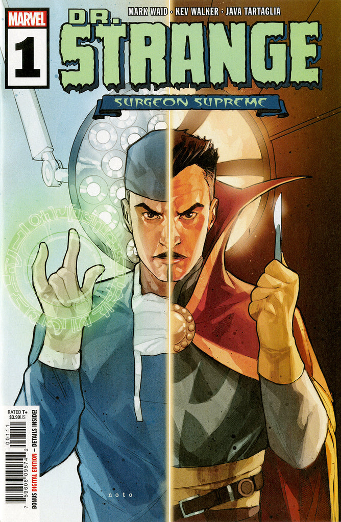"Dr. Strange; Surgeon Supreme (2019 series) #1 (Variant Green ""Reversed"" Cover - Phil Noto)"
