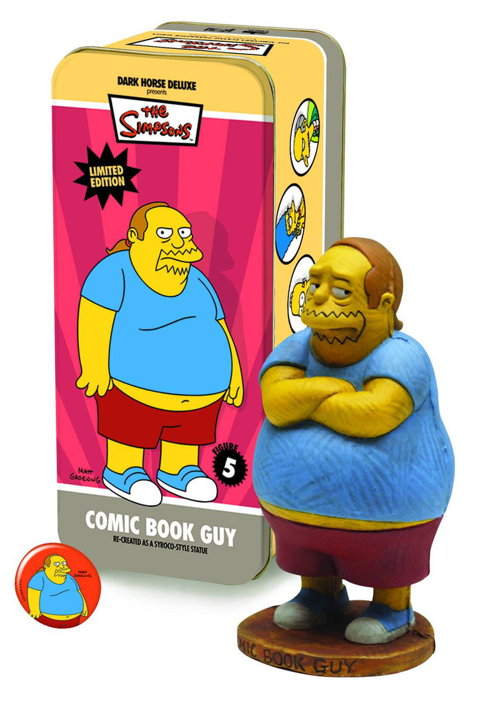 Dark Horse: Simpsons Classic Characters #5 – Comic Book Guy Mini-Statue