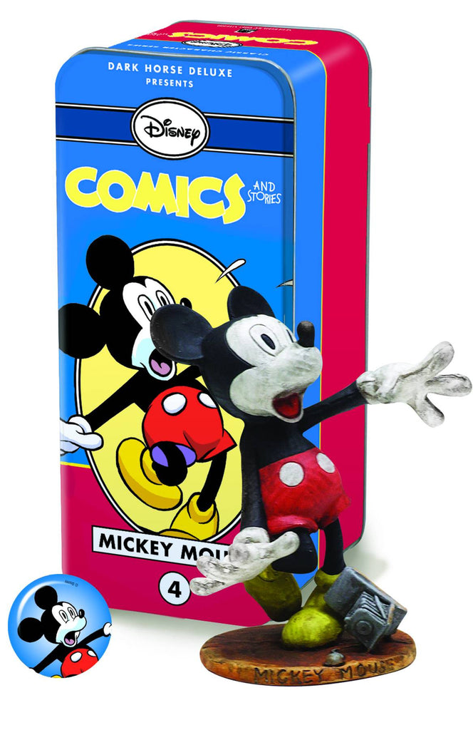 Dark Horse: Disney's Comics & Stories Classic Characters #4 – Frightened Mickey Mouse Mini-Statue