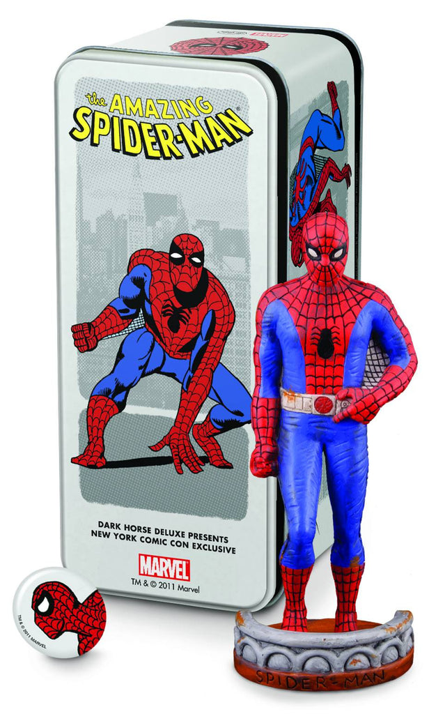 Dark Horse:  Classic Marvel Characters – Spider-Man (Activating Spider-Signal) Mini-Statue (NYCC 2011 Exclusive)