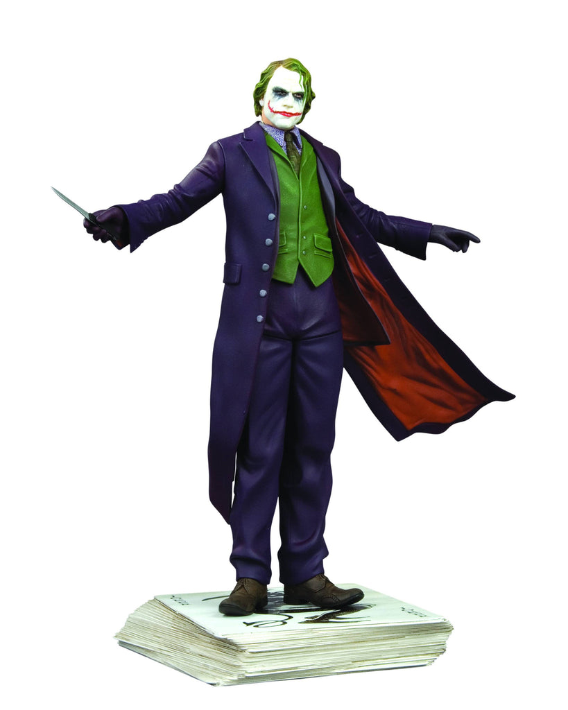 Batman: Dark Knight (Film) – Joker (Heath Ledger) Full-Size Statue