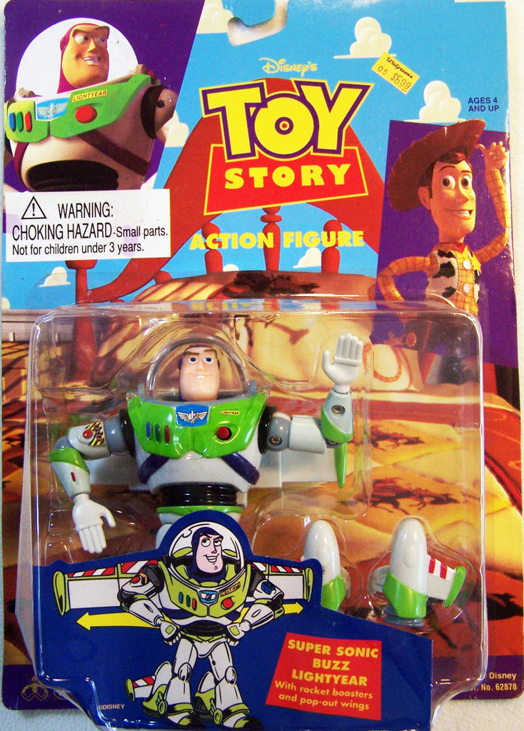 "Disney / Pixar's Toy Story (Film) – Buzz Lightyear (Super-Sonic Version) 5"" Figure"