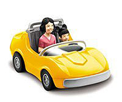 "Disney Autopia Collection – Chevron Autopia Yellow Car ""Classic"""