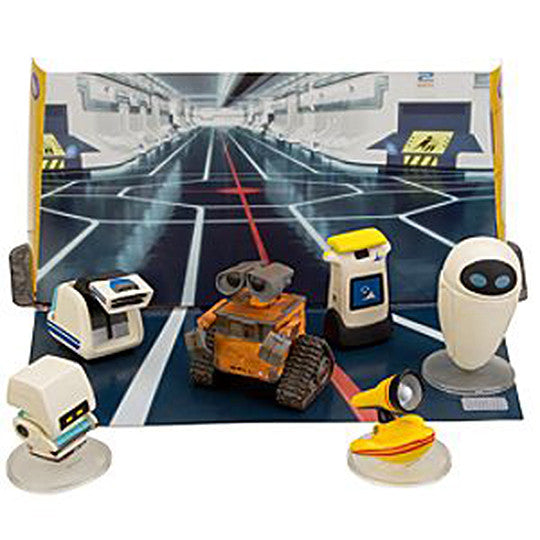 WALL*E (Film) – 6-piece Figurine Set (Disney Store Exclusive)