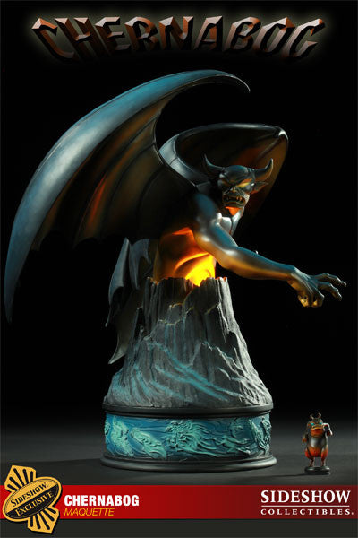 Disney's Fantasia (Film) Chernabog Mega-Size Maquette (Sideshow Exclusive Version)