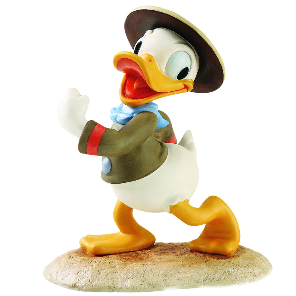 Disney's Good Scouts (Film):  Walt Disney Classics Collection – Donald Duck: Happy Camper Statue