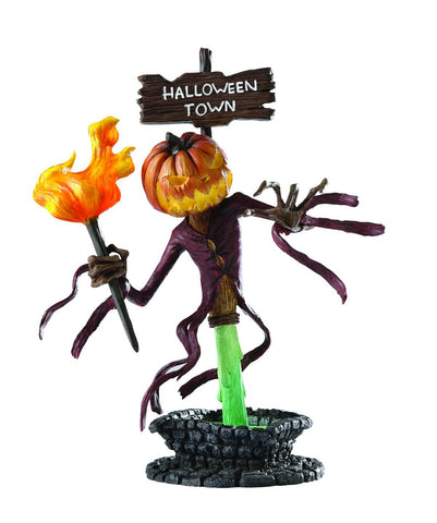 Disney's Nightmare Before Christmas (Film) – Halloween Town Pumpkin King Bust