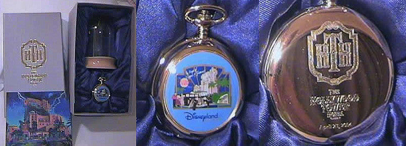 Disney Hollywood Tower Hotel Commemorative Pocketwatch & Display Globe (Passholder Event Exclusive)
