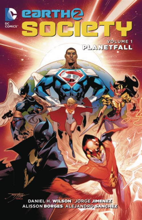 "Earth 2 Society Volume 01 ""Planetfall"" Trade Paperback (2015)"