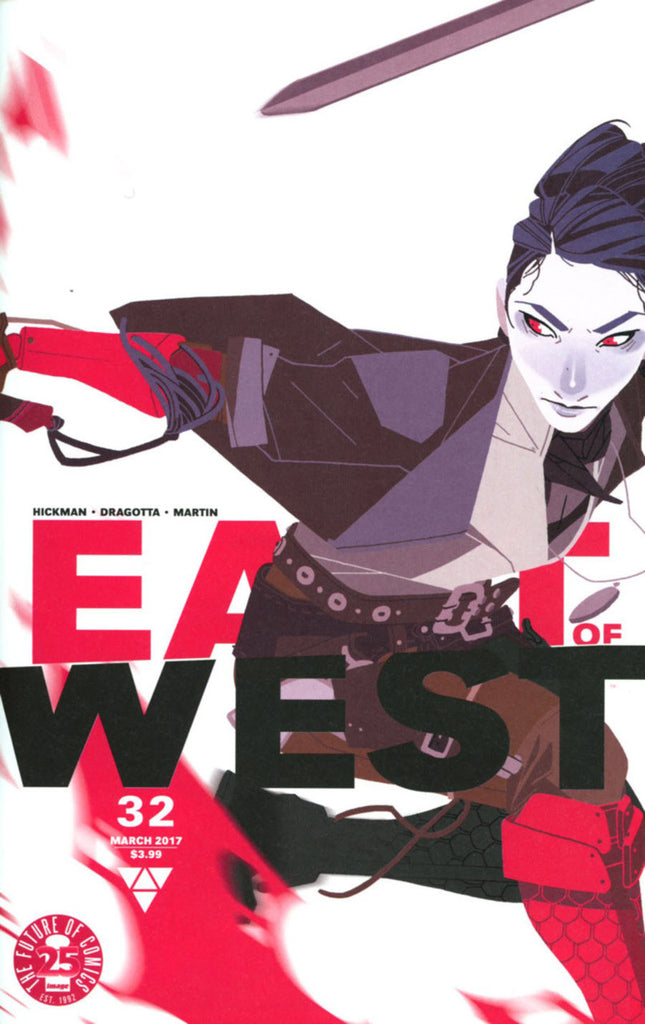 "East of West (2013 Series) #32 (Variant B ""Women's History Month"" Cover - Meredith McClaren)"