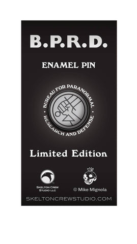 Enamel Pin – Hellboy – The B.P.R.D. Logo