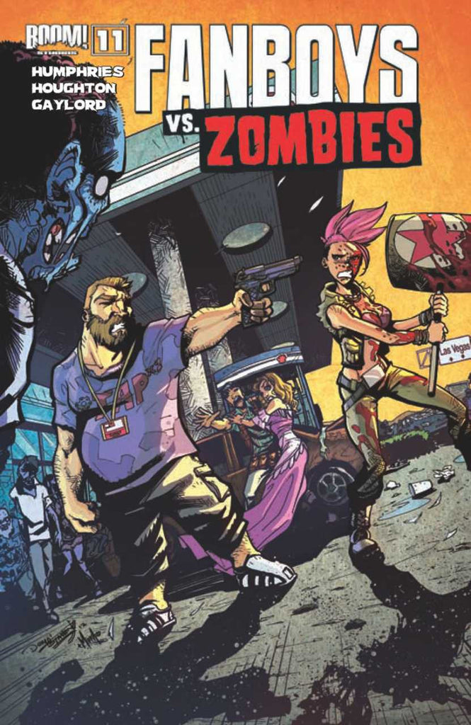 "Fanboys vs. Zombies (2012 Series) #11 (Variant ""B"" Cover - Dominike Stanton)"