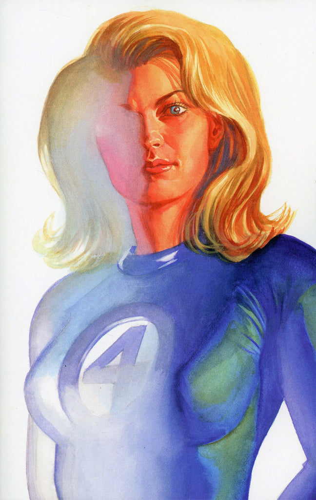 "Fantastic Four (2018 Series) #24 (Variant ""Timeless"" Invisible Woman Virgin Art Cover - Alex Ross)"