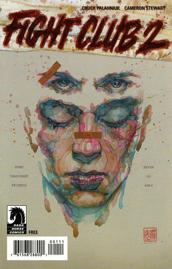 "Fight Club 2 (2015 Series) #1 ""Ashcan"" Mini-Comic"