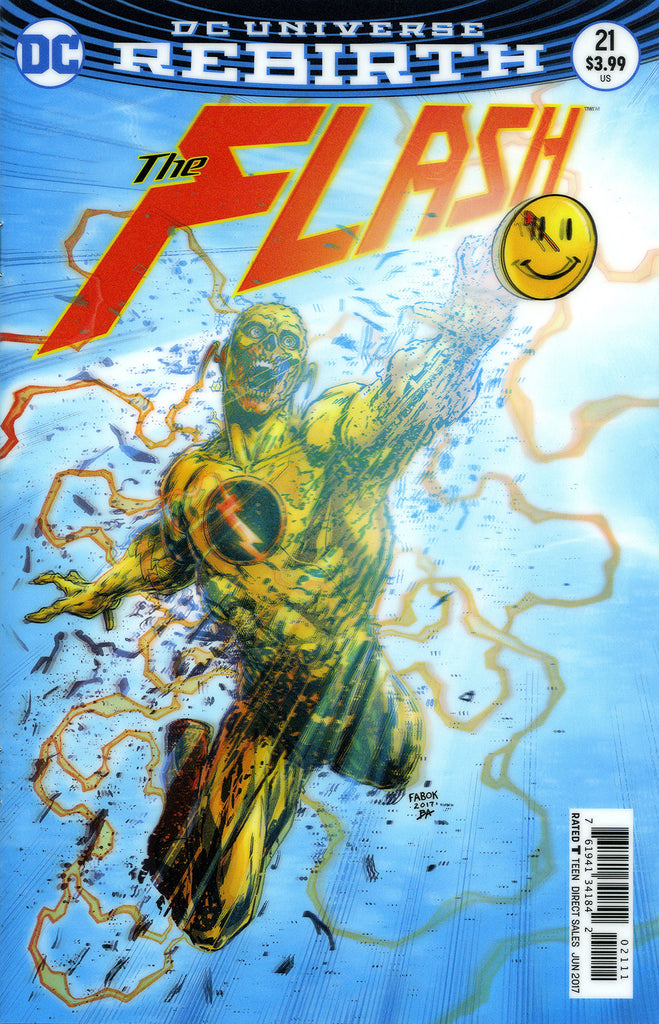 "Flash (2016 Series) #21 (Variant ""3-D"" Cover - Jason Fabok)"