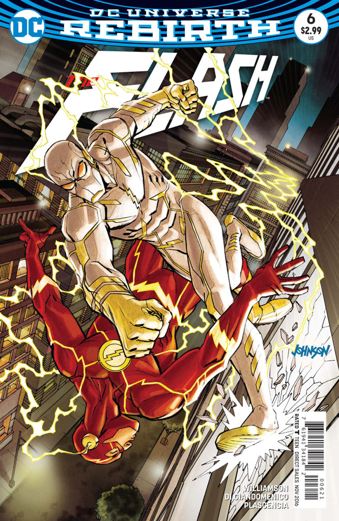 Flash (2016 Series) #6 (Variant Cover - Dave Johnson)