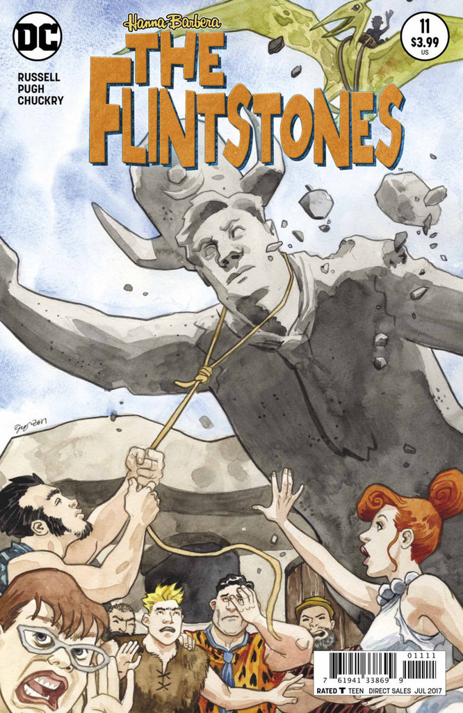 Flintstones (2016 Series) #11 (Regular Cover - Jill Thompson)