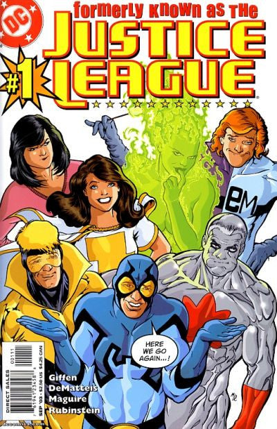 Justice League (2003 mini-series) #1-6 [SET] — Formerly Known as The Justice League