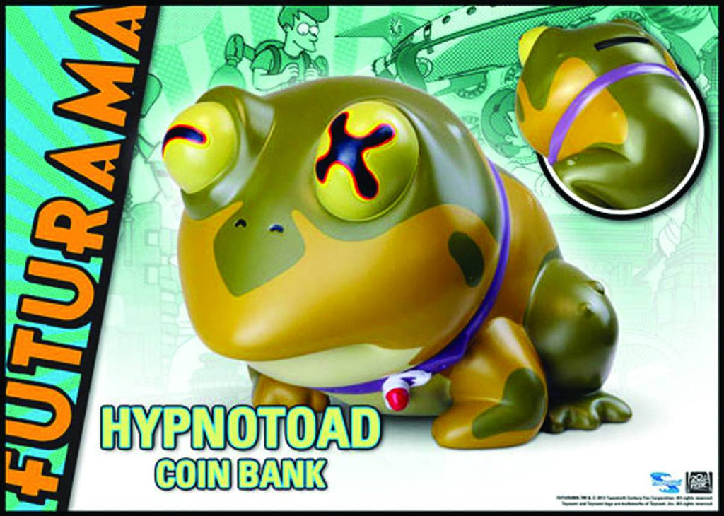 Futurama (TV) Hypnotoad Bust / Bank
