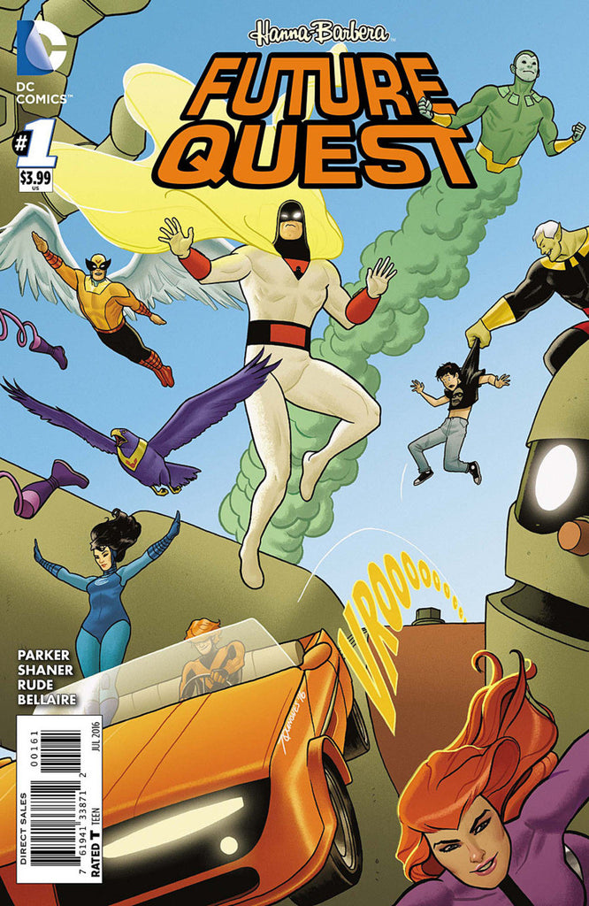 Future Quest (2016 mini-series) #1-12+ Adam Strange / Future Quest [SET] — Volume 01/02: The Lights in The Sky; The Complete Saga (All Variant Covers)