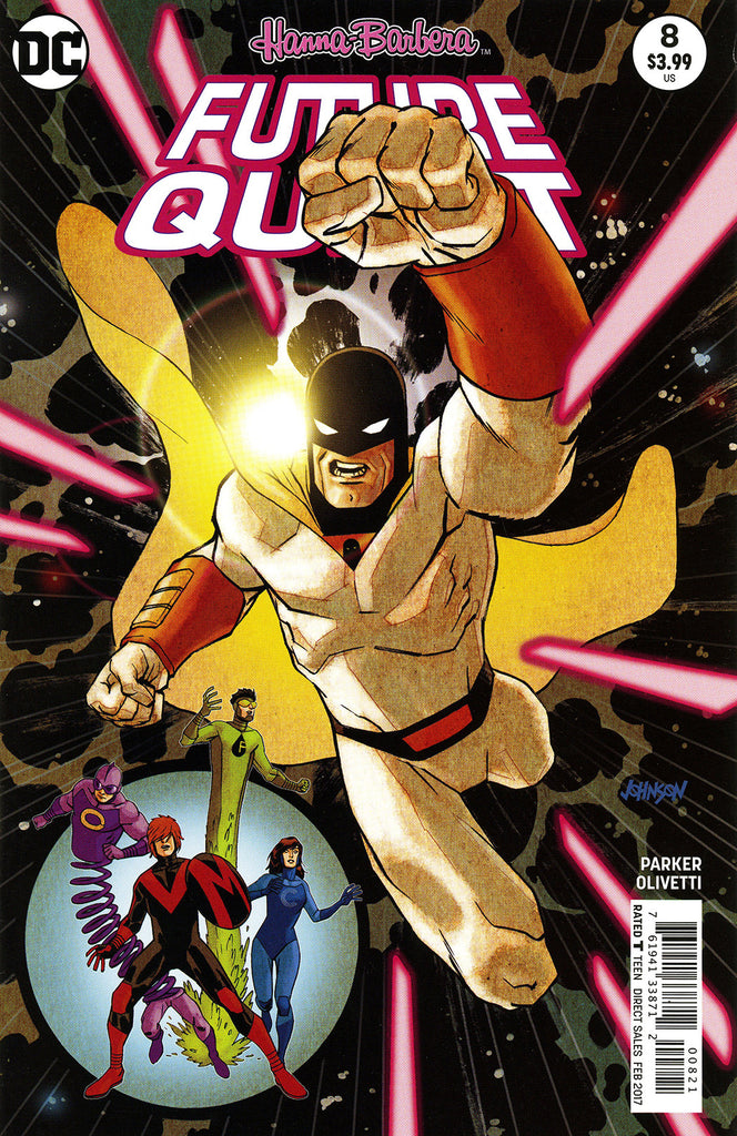 "Future Quest (2016 Series) #8 (Variant ""Space Ghost & The Impossibles"" Cover - Dave Johnson)"
