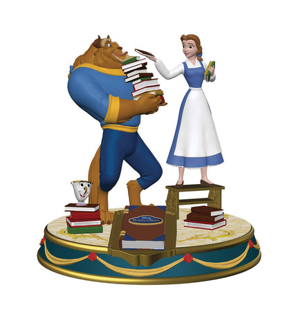 "Finders Keypers Statue – Disney's Beauty and the Beast (Film) – Belle & Beast 10"" Vinyl Figure and Keychain"