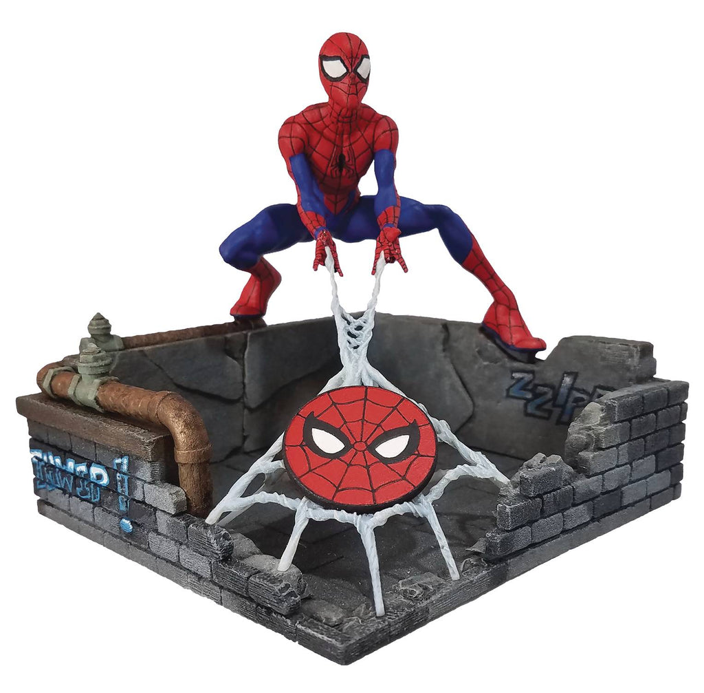 "Finders Keypers Statue – Spider-man; Homecoming (Film) – Spiderman 6"" Vinyl Figure and Keychain"