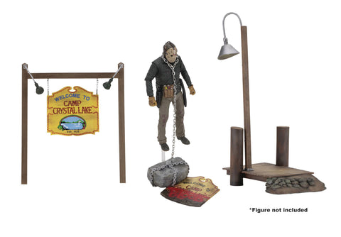 Friday the 13th (Film) – Camp Crystal Lake Accesory Pack