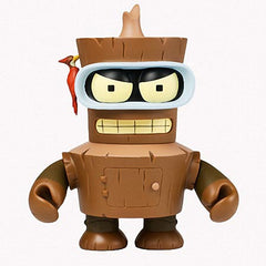 "Futurama (TV) KidRobot Vinyl Figure – Bender (Variant ""Wooden Bender"" Version 6"" Vinyl Figure"