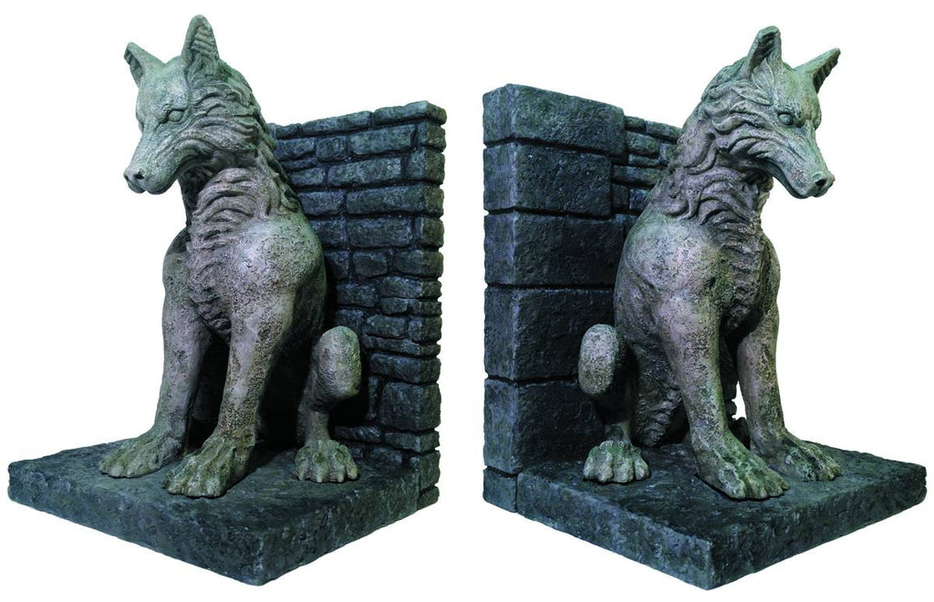"Game of Thrones (TV) ""Dire Wolf"" Bookends Set"