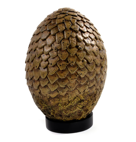 Game of Thrones (TV) – Dragon Egg Prop Replica – Viserion Tan Egg