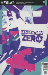 "Generation Zero (2016 series) #01-5 [SET] — Volume 01: We Are The Future (All Variant ""B"" Covers)"