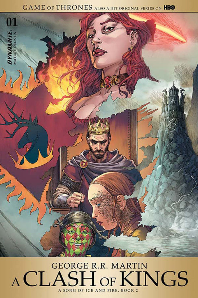 "George R.R. Martin's A Game of Thrones; A Clash of Kings (2017 Series) Part I #1 (Regular ""A"" Cover - Mike Miller)"