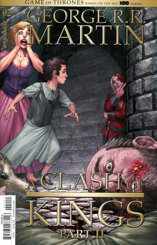 "George R.R. Martin's A Game of Thrones; A Clash of Kings (2019 Series) Part II #2 (Regular ""A"" Cover - Mike S. Miller)"