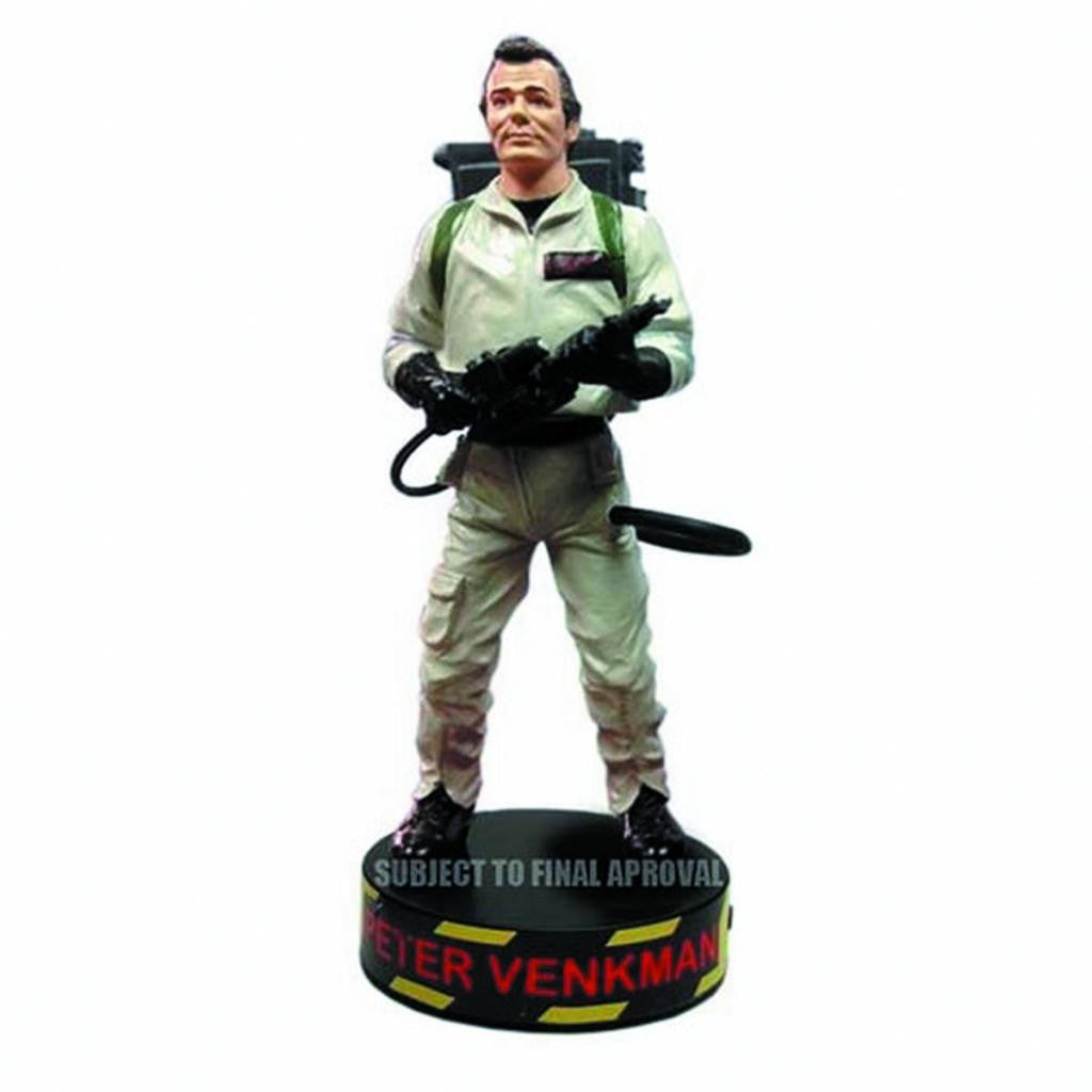 Ghostbusters (Film) – Dr. Peter Venkman Deluxe Talking Motion Statue