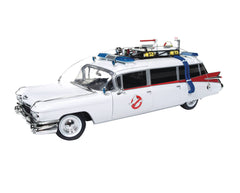 Ghostbusters (Film) ECTO-1 1959 Cadillac Ambulance 1:18 Scale Replica Vehicle