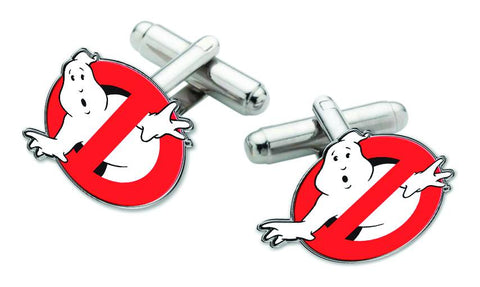 "Ghostbusters (Film) – ""No Ghost"" Logo Cufflinks Set"