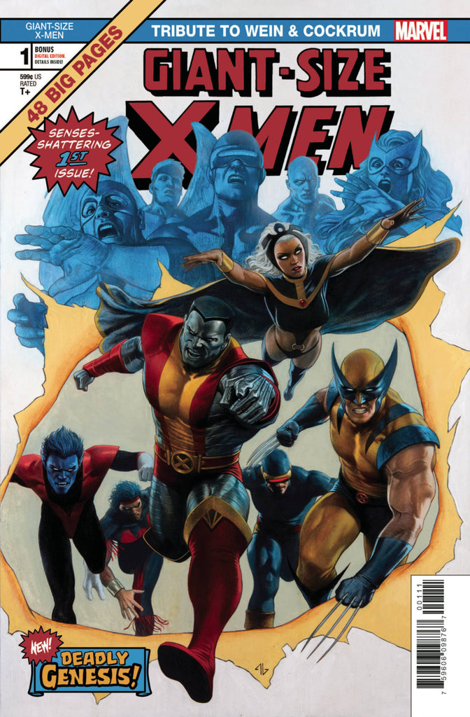 Giant-Size X-Men; Tribute to Wein & Cockrum (2020 one-shot) #1 (Regular Cover - Adi Granov)