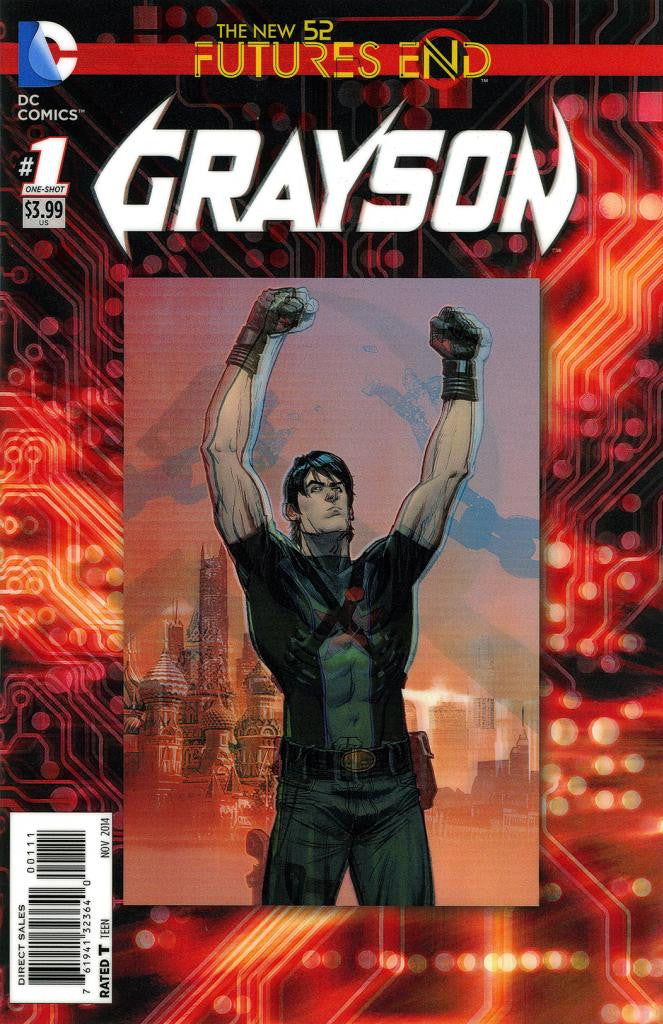 "Grayson: Future's End (2014 One-Shot) #1 (Variant ""3-D"" Cover - Andrew Robinson)"
