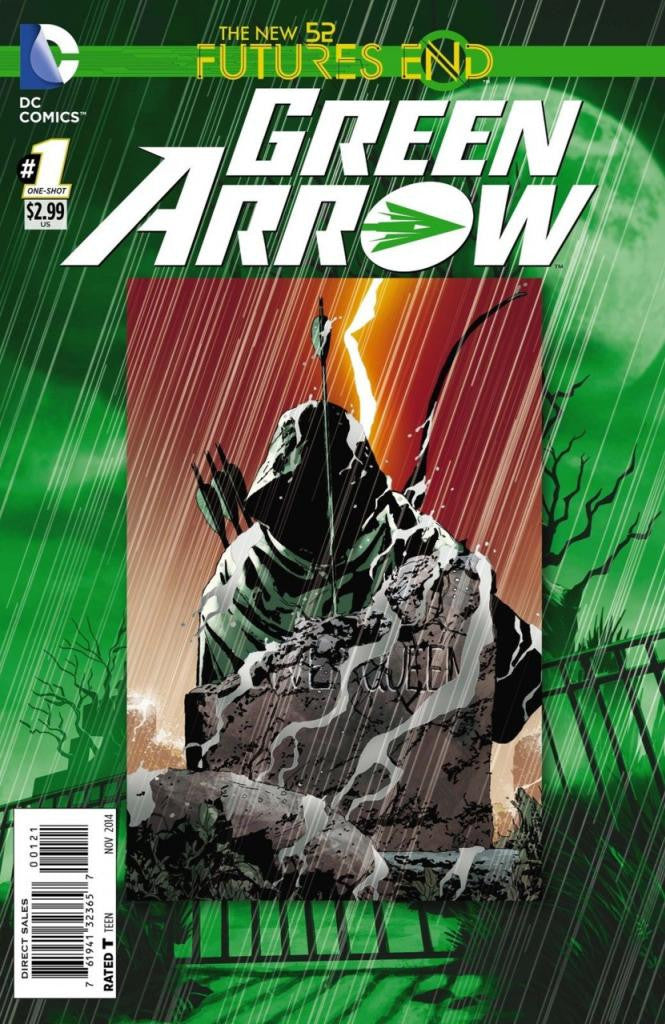 Green Arrow: Future's End (2014 One-Shot) #1 (Regular Cover - Andrea Sorrentino)