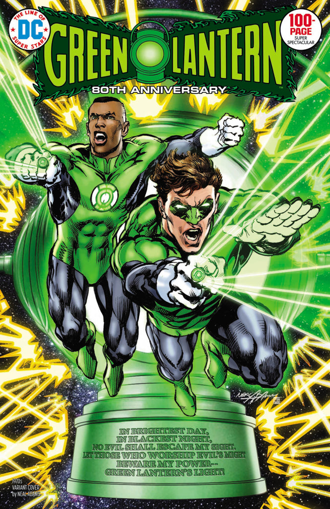 "Green Lantern 80th Anniversary 100-Page Super Spectacular (2020 one-shot) #1 (Variant ""1970's"" Cover - Neal Adams)"
