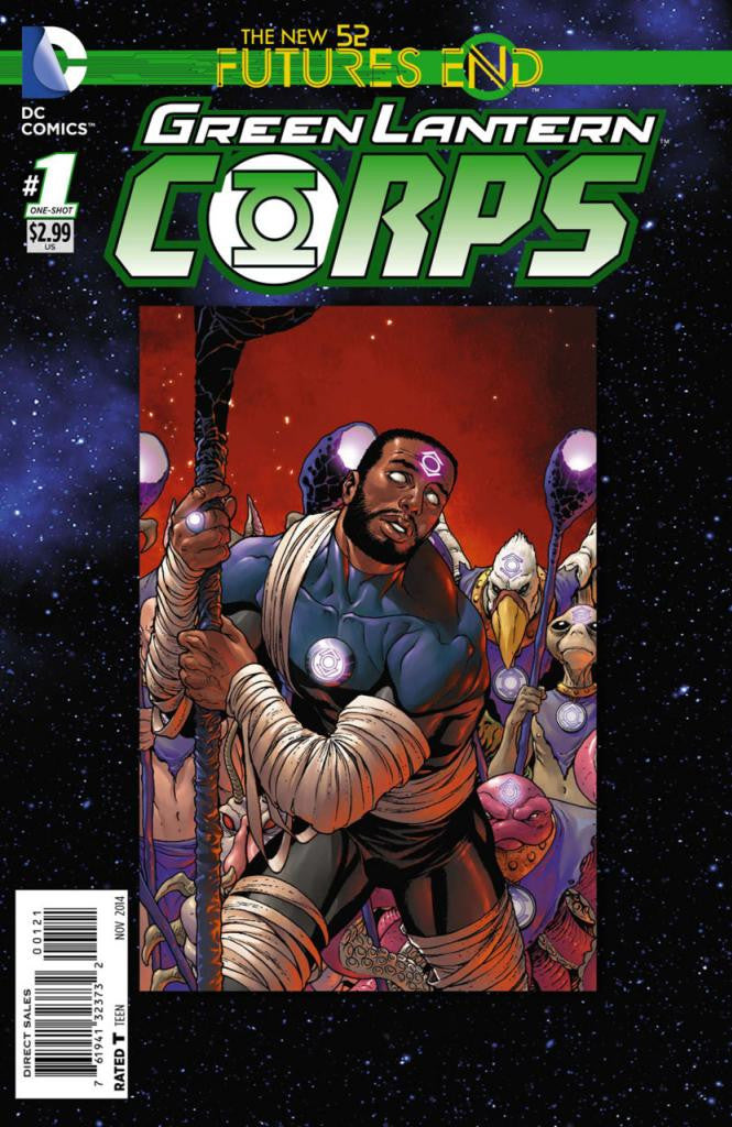 Green Lantern Corps: Future's End (2014 One-Shot) #1 (Regular Cover - Francis Portella)