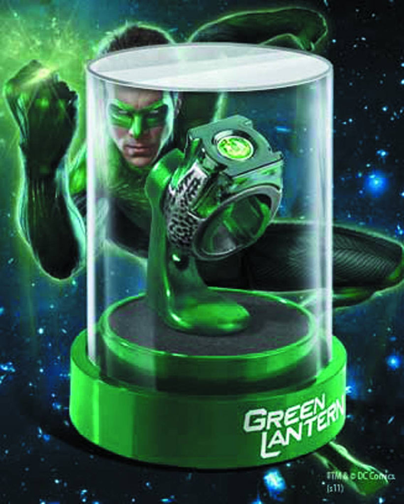 Green Lantern (Film) – Power Ring Prop Replica & Display Case