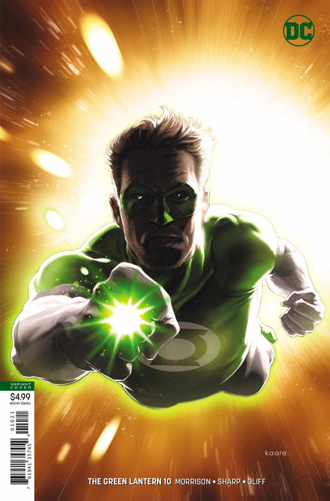 Green Lantern (2018 series) #10 (Variant Card Stock Cover - Kaare Andrews)