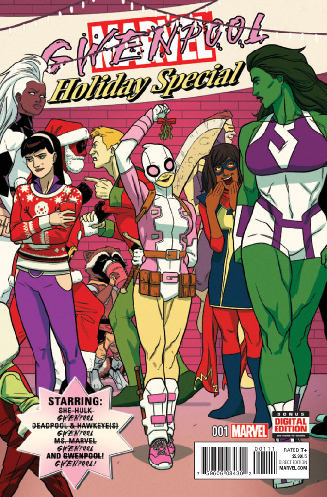Gwenpool Special (2015 One-Shot) #1 (Regular Cover - Kris Anka)