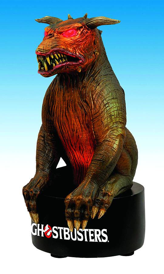 Ghostbusters (Film) – Gozer the Gozarian Terror Dog Light-Up Statue