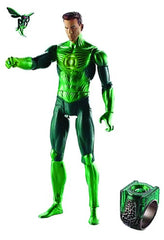 "Green Lantern ""Movie Masters"" Series Wave 3 – Hal Jordan (Variant ""Maskless"" Version) 6"" Figure + Bzzd Micro Figure + Adult Power Ring (Parallax BaF)"
