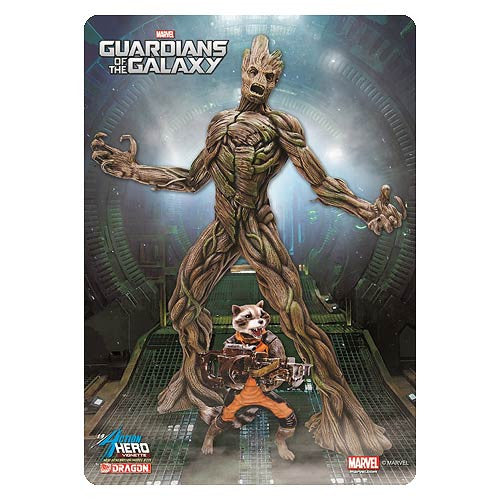 Guardians of the Galaxy (Film) – Groot and Rocket Raccoon AVH Pre-Assembled Model Kit